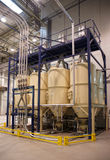 Coffee roasting plant. Shot in operation Stock Photo