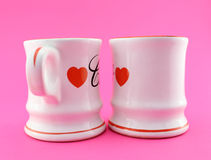 Coffee and Romance Stock Photography