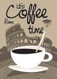 Coffee Rome Royalty Free Stock Photos