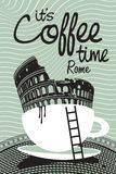 Coffee rome Stock Photo