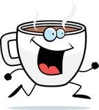 Coffee Running Royalty Free Stock Image