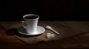 Coffee in rural still Royalty Free Stock Images