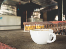 Coffee in rusty factory. Stock Photography