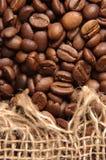 Coffee and sack Stock Image