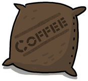 Coffee Sack illustration Stock Image