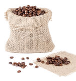 Coffee sack Stock Images