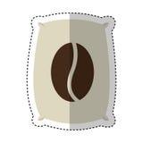 Coffee sack isolated icon Royalty Free Stock Photos