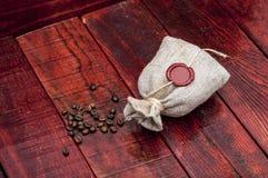 Coffee sack Royalty Free Stock Photos