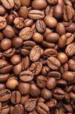 Coffee and sack. Surface of coffe and sack stock photos