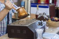 Coffee sand Stock Photography
