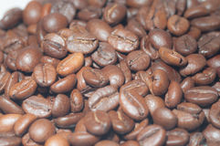 Coffee. Scattered grains of coffee. ideal for background Royalty Free Stock Photography