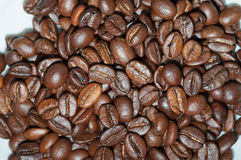 Coffee. Scattered grains of coffee. ideal for background stock photos