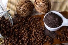 Coffee Scrub Stock Photography