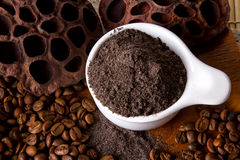 Coffee Scrub Stock Photography