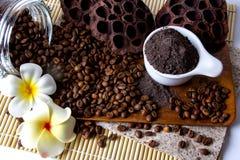 Coffee Scrub Royalty Free Stock Photos