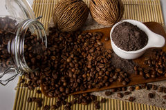 Coffee Scrub Stock Photo