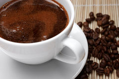 Coffee Scum Royalty Free Stock Images