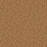 Coffee seamless pattern Stock Images