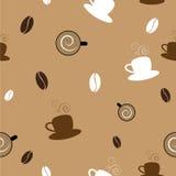 Coffee Seamless Pattern. Retro Coffee seamless pattern design Stock Photos