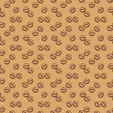 Coffee seamless pattern. Vector background. Royalty Free Stock Photography