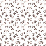Coffee seamless pattern. Vector background. Royalty Free Stock Image