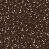 Coffee seamless pattern Royalty Free Stock Photo