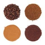 Coffee Selection Stock Image