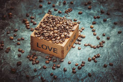 Coffee. Selective focus. for a good mood Stock Images