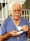 Coffee senior. Stock Images