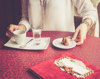 Coffee serve Royalty Free Stock Image