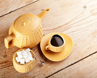Coffee is served Royalty Free Stock Image