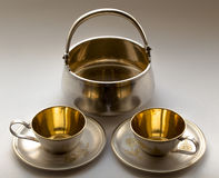 Coffee service Royalty Free Stock Photos