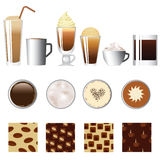 Coffee set Stock Image