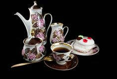 Coffee set Royalty Free Stock Photo