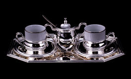 Coffee set Stock Photo