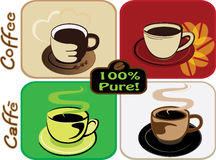 Coffee set Royalty Free Stock Image