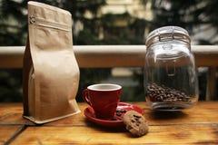 A coffee set Stock Image