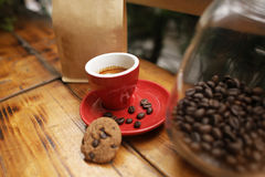 A coffee set Royalty Free Stock Photo