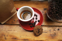 A coffee set Royalty Free Stock Images