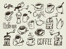 Coffee set Stock Photo