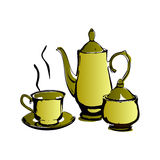 Coffee set Royalty Free Stock Images