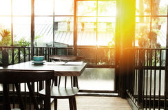 Coffee shop background Stock Photography