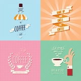 Coffee shop background Royalty Free Stock Photography
