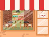 Coffee shop background Royalty Free Stock Image