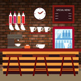 Coffee Shop, Bar, Pub. Coffee Shop vector for your ideas Royalty Free Stock Photography