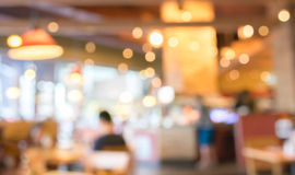 Coffee shop blur background with bokeh image. Coffee shop blur background with bokeh image Stock Image
