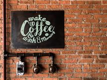 Free Coffee Shop Decoration Stock Image - 168624221