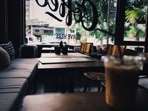 Coffee shop. Decoration design Stock Image