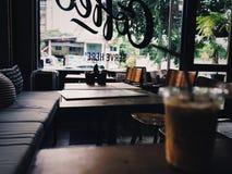 Coffee shop. Decoration design stock image