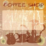 coffee shop design Stock Images